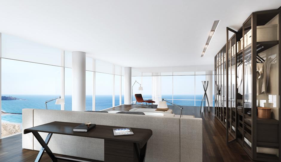 20sea view penthouse  Interior Design Ideas
