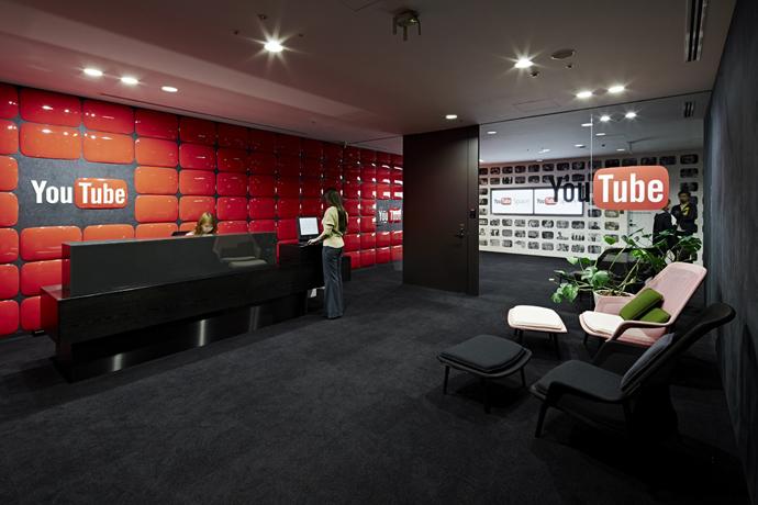 29 Youtube Logo Wall Interior Design Ideas