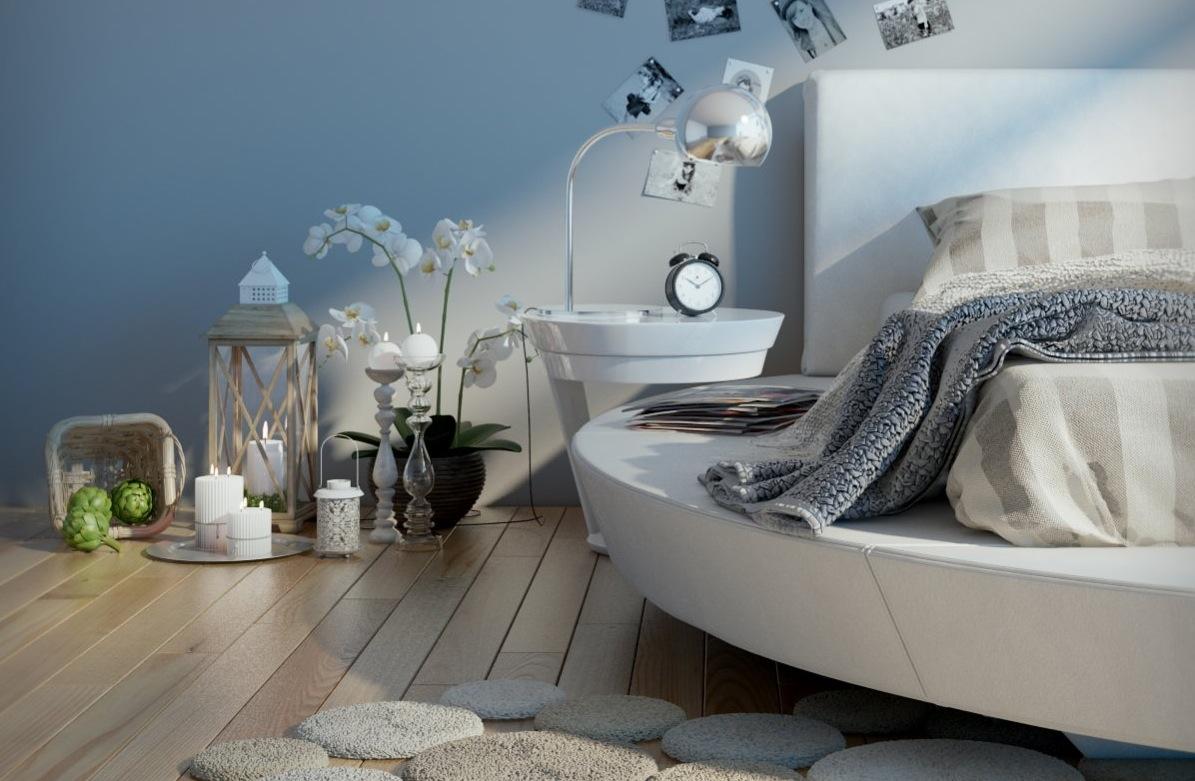 pretty bedroom decor  Interior Design Ideas