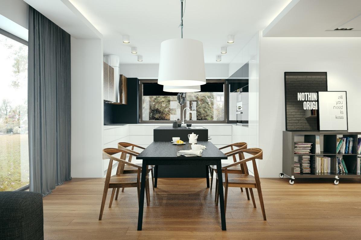 Simply Elegant Dining Room Interior Design Ideas