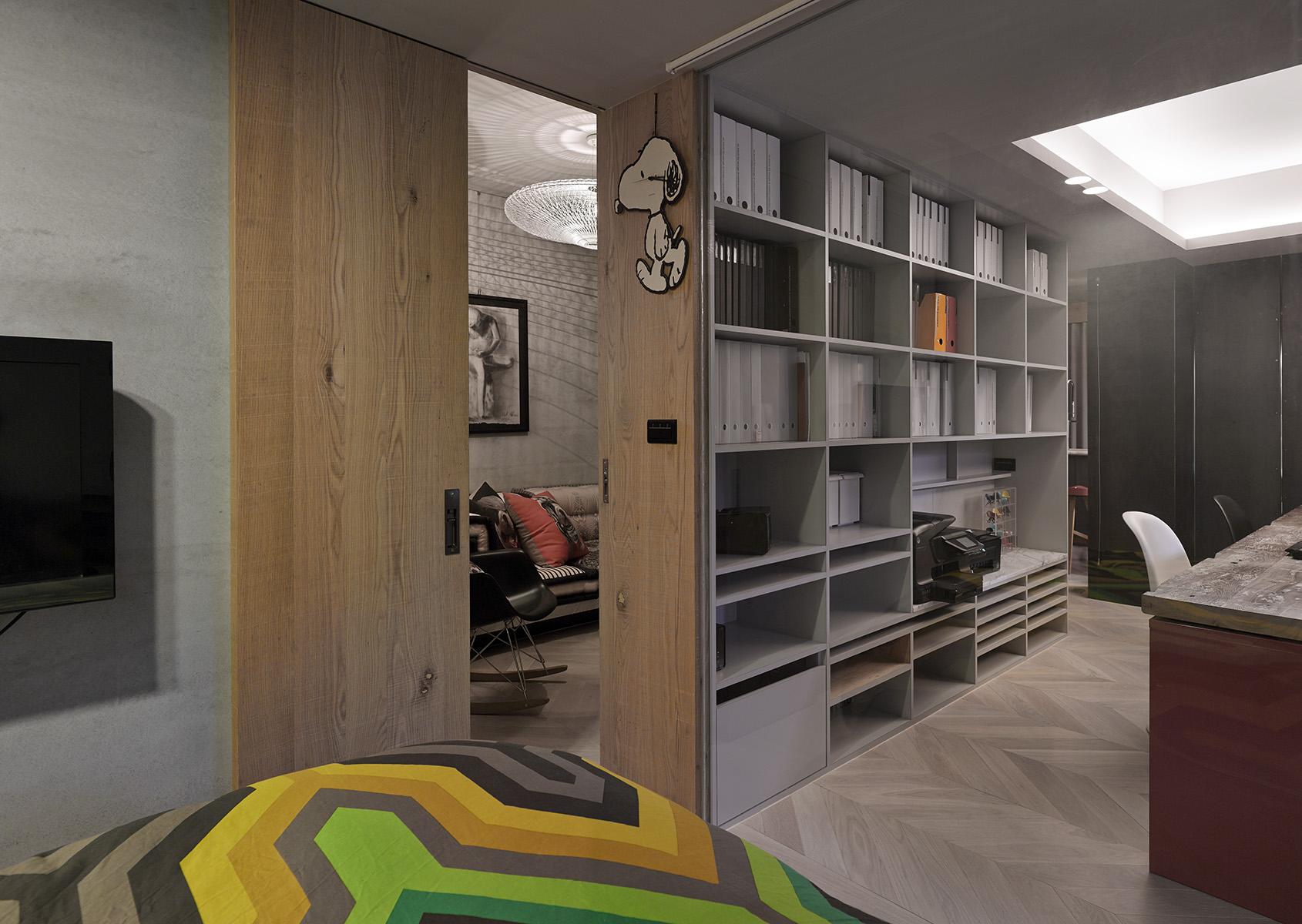 space saving bedroom  Interior Design Ideas