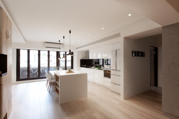urban design house kitchen Sparkling Urban Apartment Design