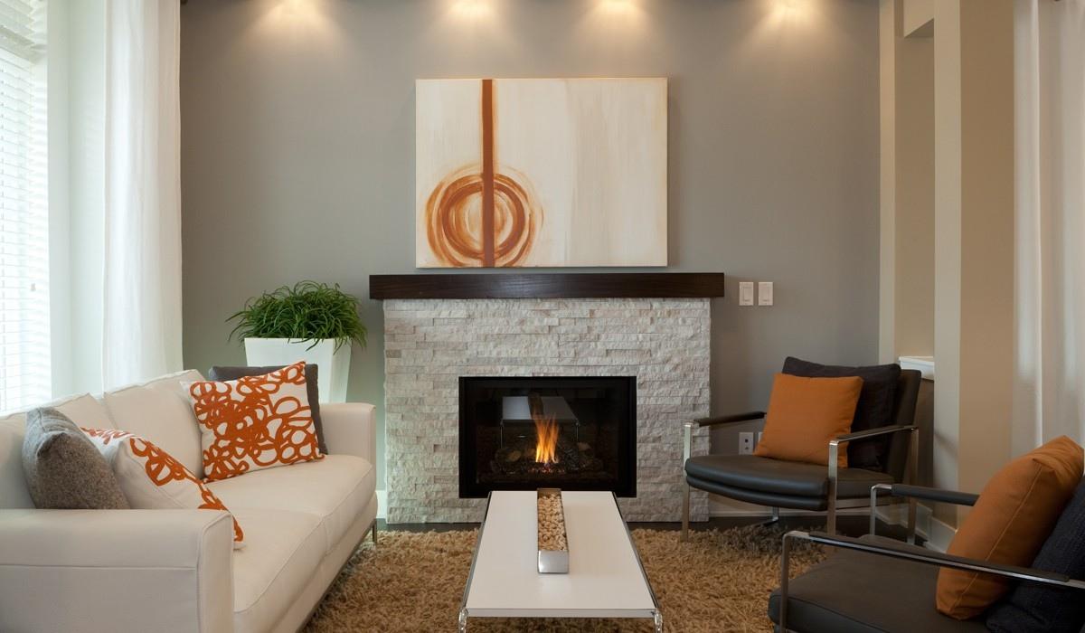 Burnt Orange Living Room Interior Design Ideas Part 86