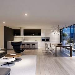 Modern Living Room Styles Grey Floor Spacious Interiors
