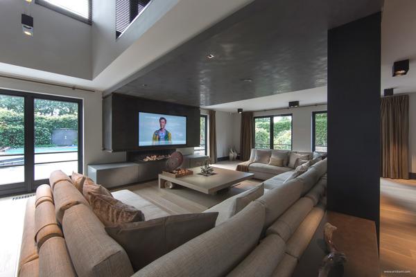 huge modern living room  Interior Design Ideas