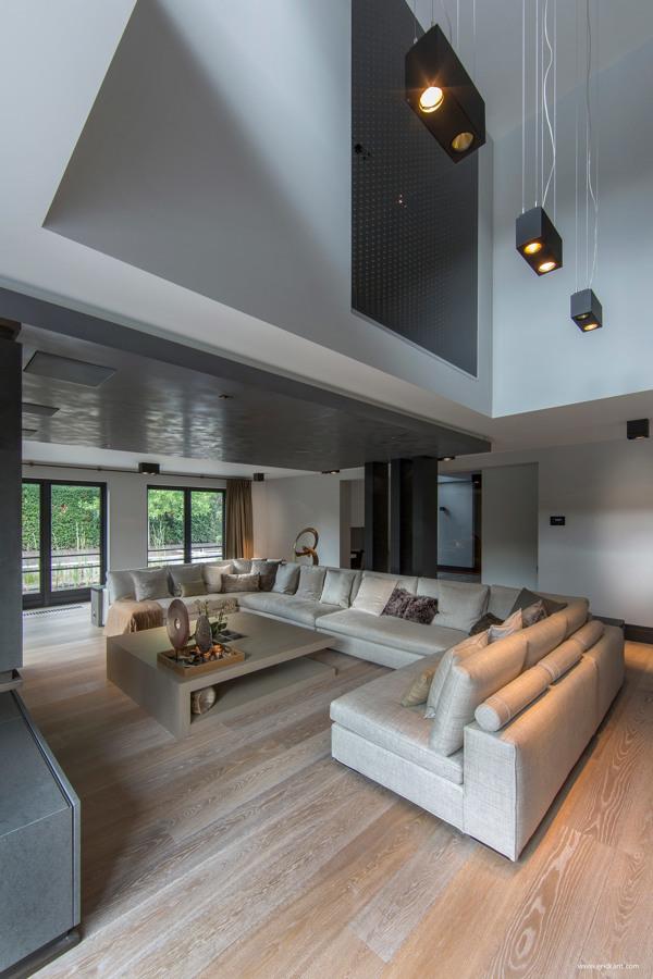 custom kitchen island mico faucets ultramodern, sleek house with sharp lines