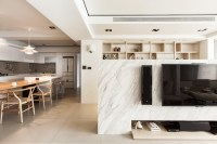 marble display wall | Interior Design Ideas.