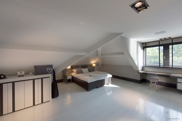 pitched roof bedroom  Interior Design Ideas