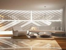 Futuristic Interior Design Living Room