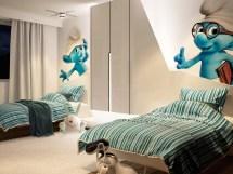 Futuristic Bedroom Interior Design