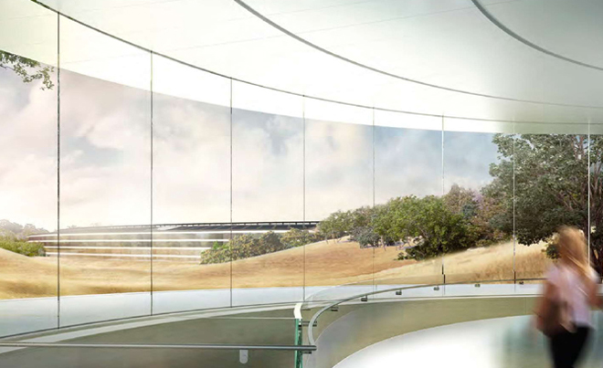 Apples Headquarters New Pictures Amp Video
