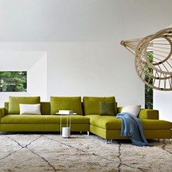 Green Sofa Living Room Ideas With Black Couches Interior Design