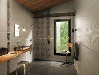 Black beige bathroom tiles | Interior Design Ideas.