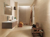 Beige bathroom decor | Interior Design Ideas.