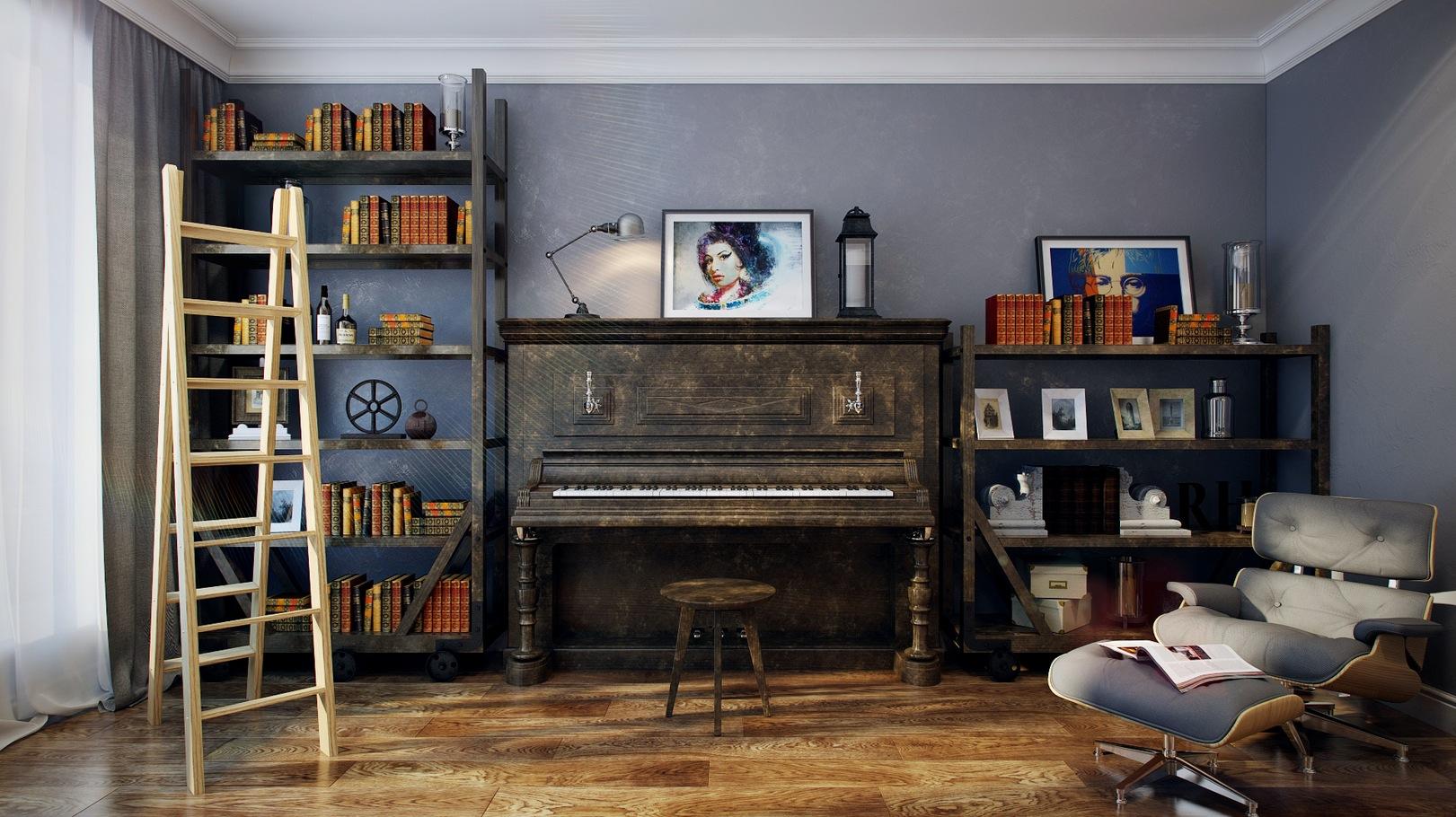 music room  Interior Design Ideas