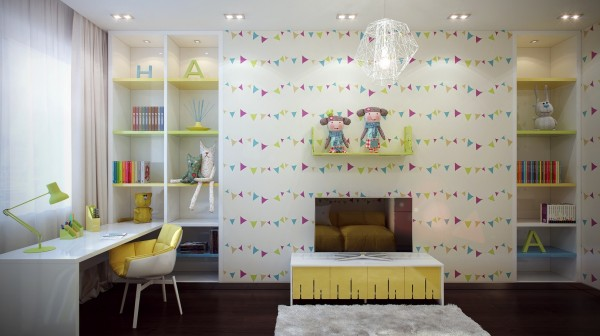 Fun kids room design