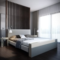 simple modern bedroom | Interior Design Ideas.