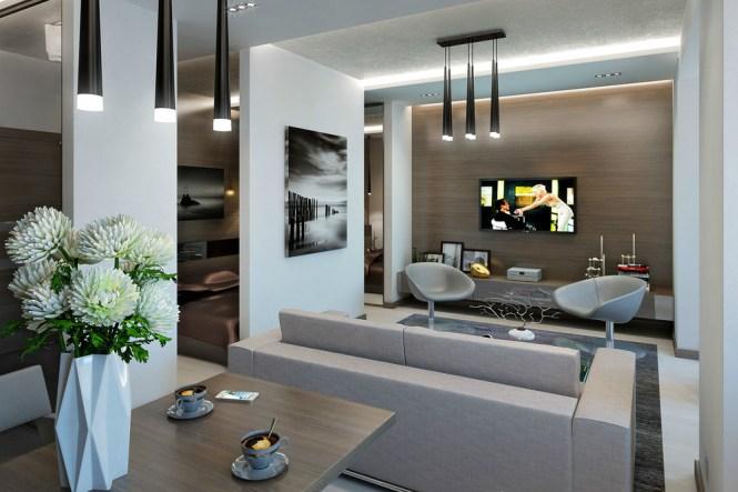Modern Apartment Decor Entrancing Living Room Design Ideas