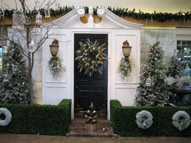 christmas decorating ideas outside - Christmas Decoration Ideas Outside