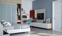 Bedroom office | Interior Design Ideas.