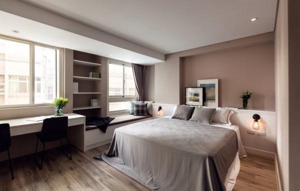 apartment bedroom design ideas Vibrant Blue and Purple Apartment Decor