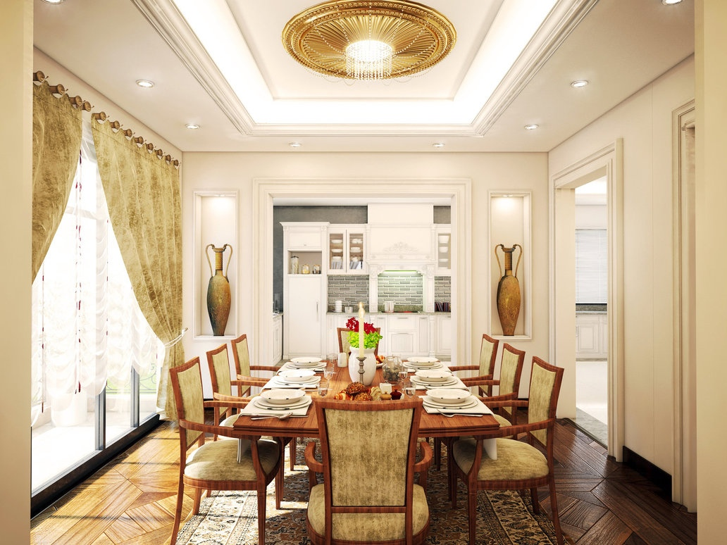 Traditional dining room  Interior Design Ideas