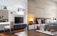 Modern wall treatments | Interior Design Ideas.