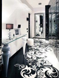 Black and White Graphic Decor
