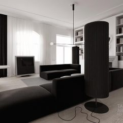 Beach House Living Room Furniture Ideas Leather Sofa Decor Monochrome Design | Interior Ideas.