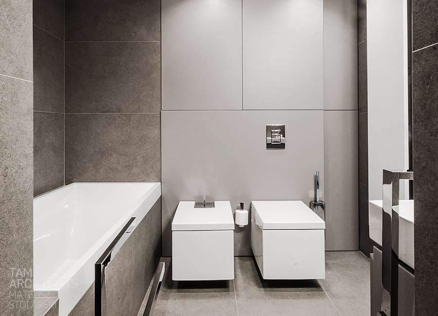 Rectangular bathroom design  Interior Design Ideas