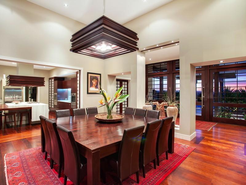 Square Dining Table Interior Design Ideas