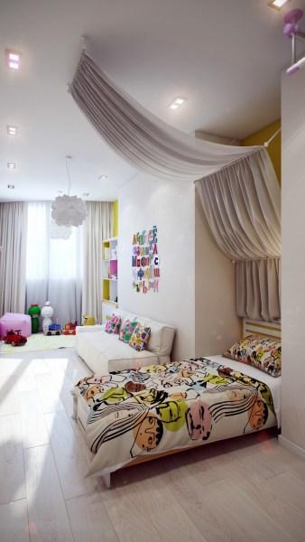 colorful bedroom designs Crisp and Colorful Kids Room Designs