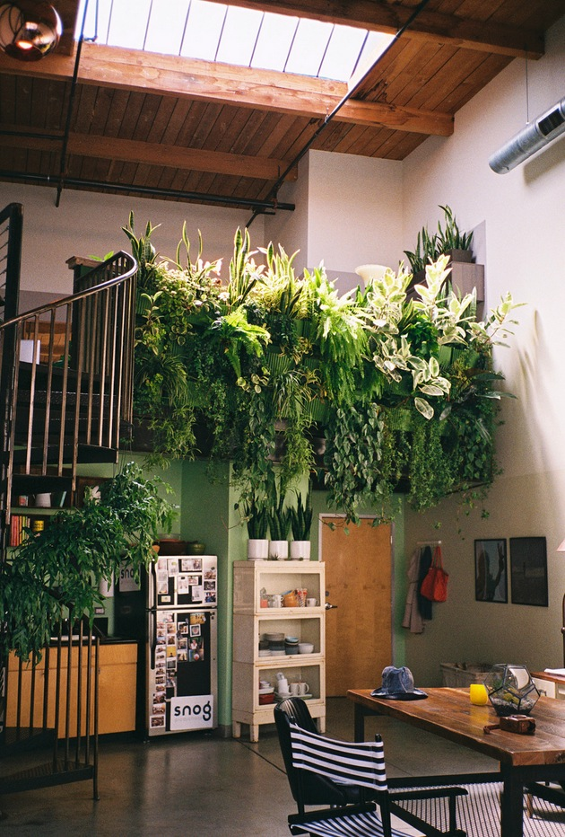 Indoor balcony garden  Interior Design Ideas