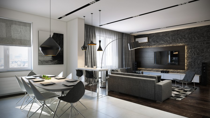 Open Plan Interior Interior Design Ideas