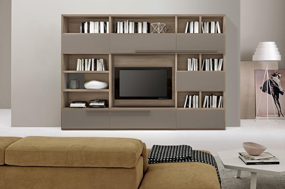 Living Room Bookshelves 47  Interior Design Ideas