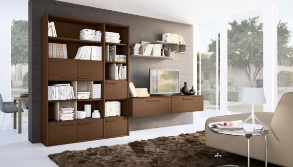 cabinets for living room designs best brown color modern wall units with storage inspiration 88