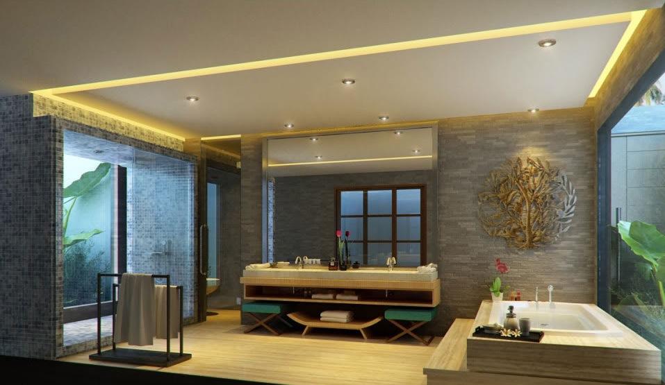 Luxury bathroom vanity  Interior Design Ideas