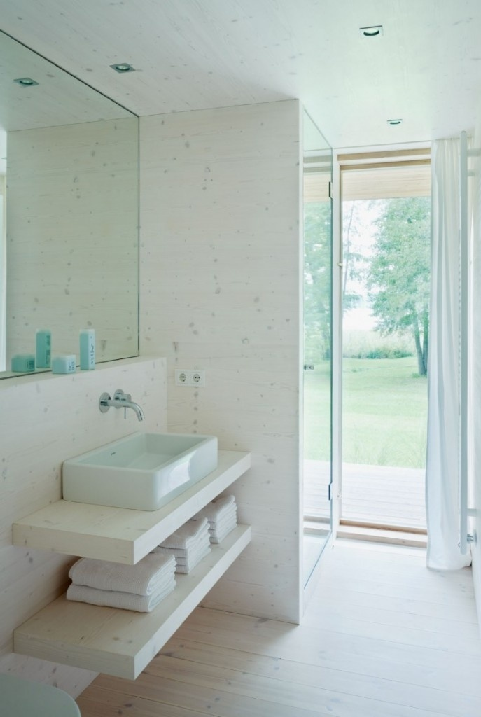 vanity shelves | interior design ideas.