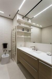 Taupe bathroom vanity unit | Interior Design Ideas.
