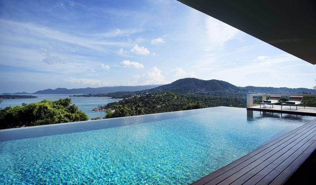 Infinity Swimming Poolinterior Design Ideas