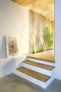 Interior wooden steps | Interior Design Ideas.