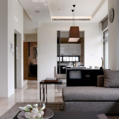 Modern Look Living Room Small Fireplace Tv Two Chic Apartments With Adaptable Home Style