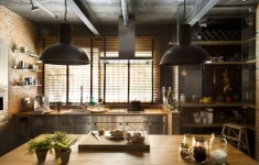 Extremely Beautiful Industrial Kitchen That Will Motivate You To Workout