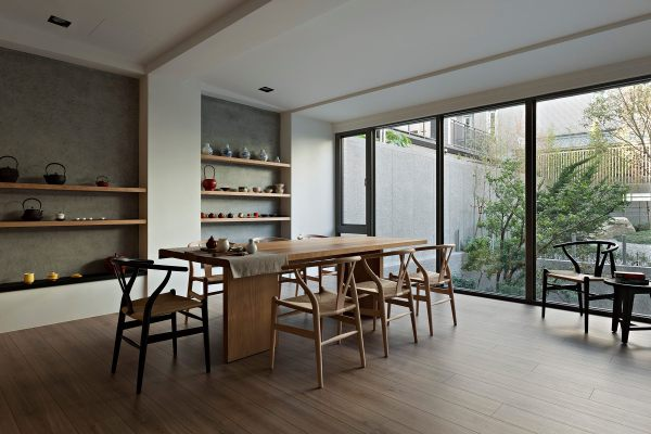 Chinese Dining Room Interior Design