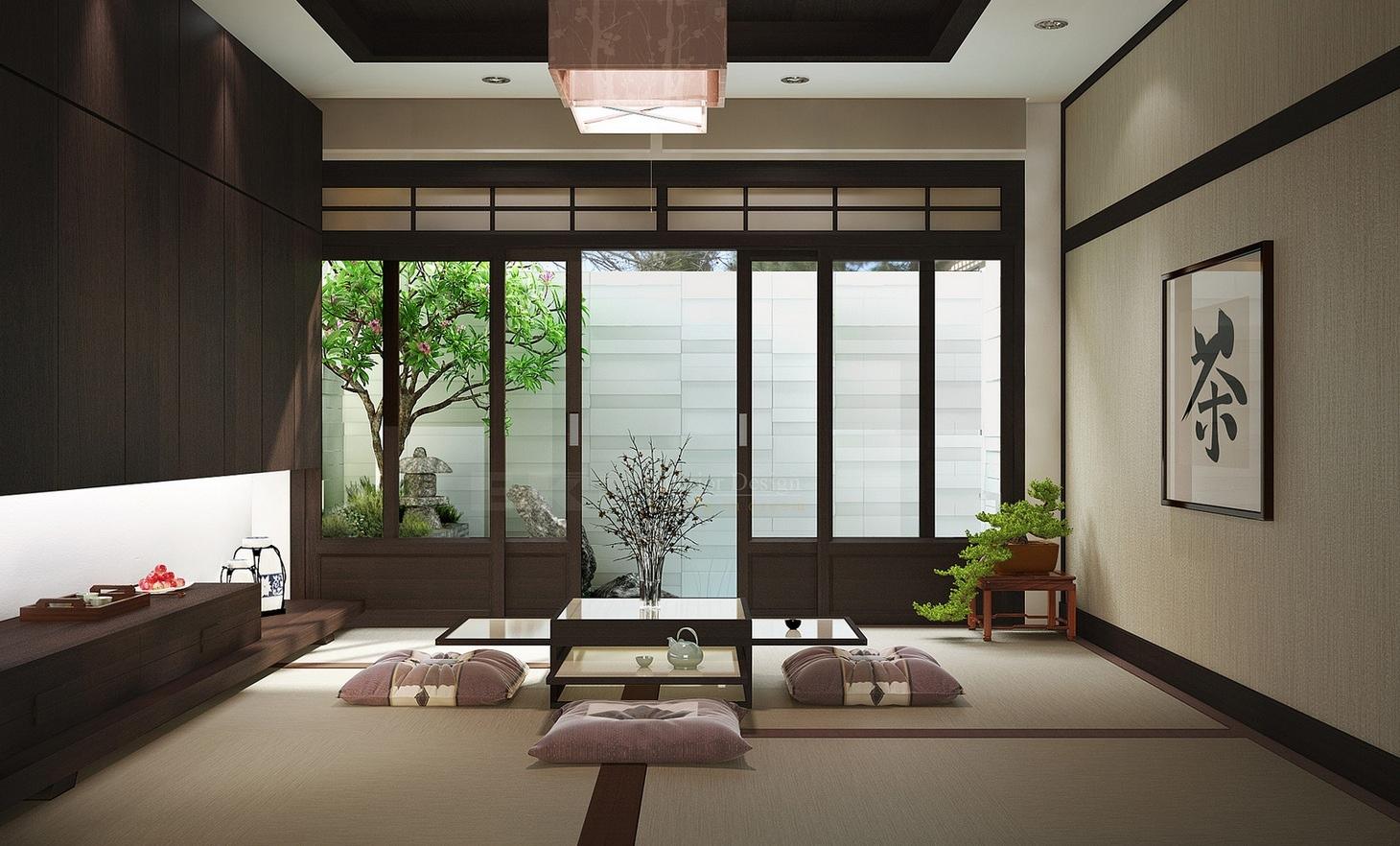 japanese inspired living room sectionals for sale zen interior design