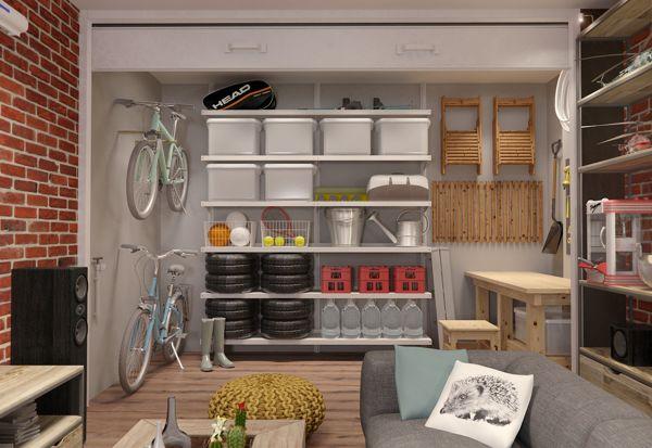 Garage organisation  Interior Design Ideas