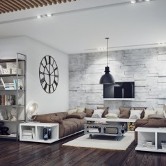 Industrial Style Living Room Furniture How To Design A Small Layout Interior Ideas