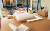 Japanese style platform bed | Interior Design Ideas.