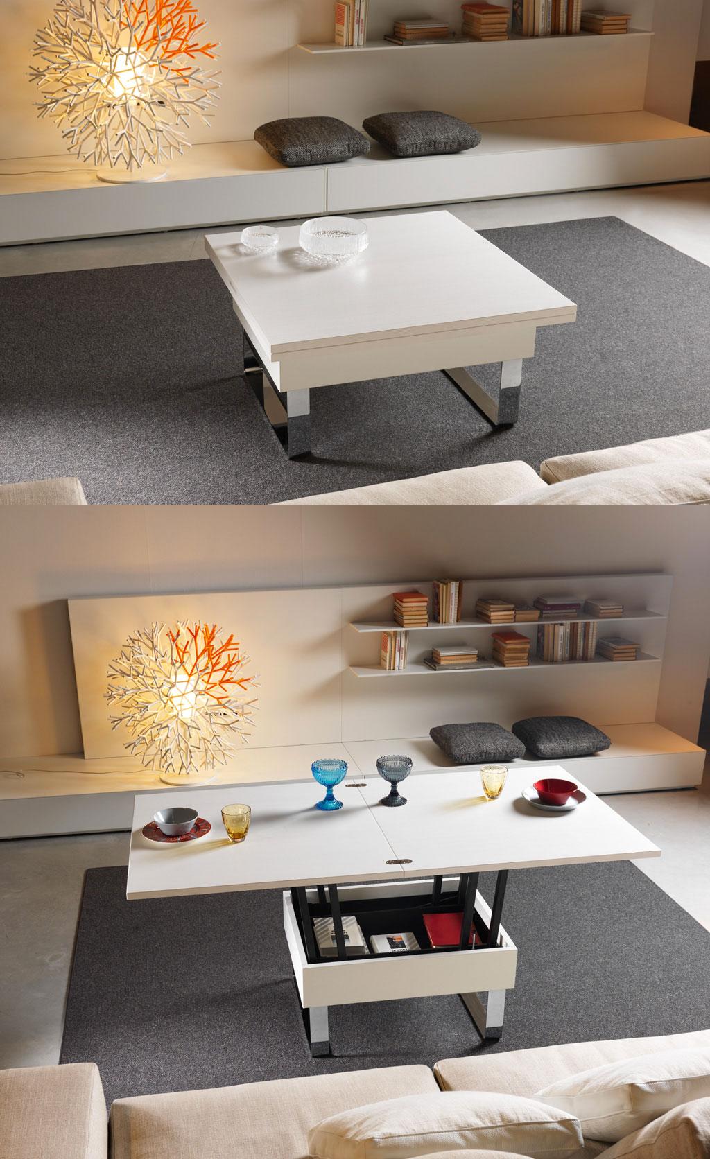 Coffee Table Cum Dining Tableinterior Design Ideas