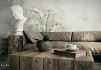 Interiors with Natural and Rustic Accents